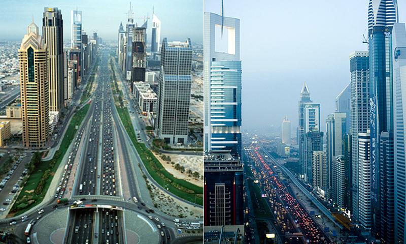 Sheikh Zaid Road Dubai